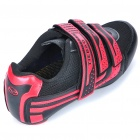 Stylish Bike Cycling Carbon Fiber Practical Shoes- Red + Black (EUR Size-41)