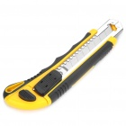 Retractable Endurable Wide Blade Cutter - Yellow + Black (3 Blades Pack)