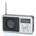 "USB Rechargeable 1.3"" Display MP3 Player Speaker w/ TF / USB / FM - Black + Grey"