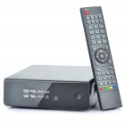 "1080P Full HD 3.5"" HDD Multimedia Player with USB / LAN / HDMI / Mini USB / YPbPr (Black)"