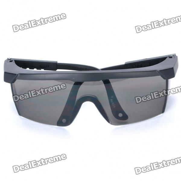 Sports Experiment Protective PC Goggles - Black