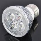 E27 4W 6500K 285.5-Lumen 4-LED White Light Bulb (AC 220V)
