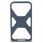 Cool X-Man Protective Aluminum Alloy Back Case for iPhone 4 / 4S - Black
