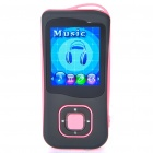 1.8&quot; LCD Rechargeable MP4 Player w/ FM - Pink (4GB)