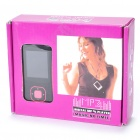 "1.8"" LCD Rechargeable MP4 Player w/ FM - Pink (4GB)"