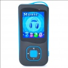 1.8&quot; LCD Rechargeable MP4 Player w/ FM - Blue (4GB)