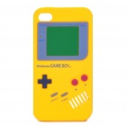 Game Boy-Stil Protective Silicone Case für iPhone 4 - Yellow