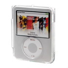 Crystal Cases with Removeable Clip for Ipod Nano 3 (2-Pack)