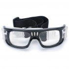 Basketball Soccer Sports Protective PC Goggles - Black