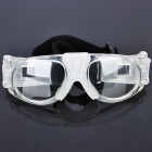 Basketball Soccer Sports Protective PC Goggles - White