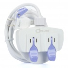 Genuine PLUGO Easy-pull 2-Outlet Socket Power Strip (AC 250V / 1.8m-Cable)