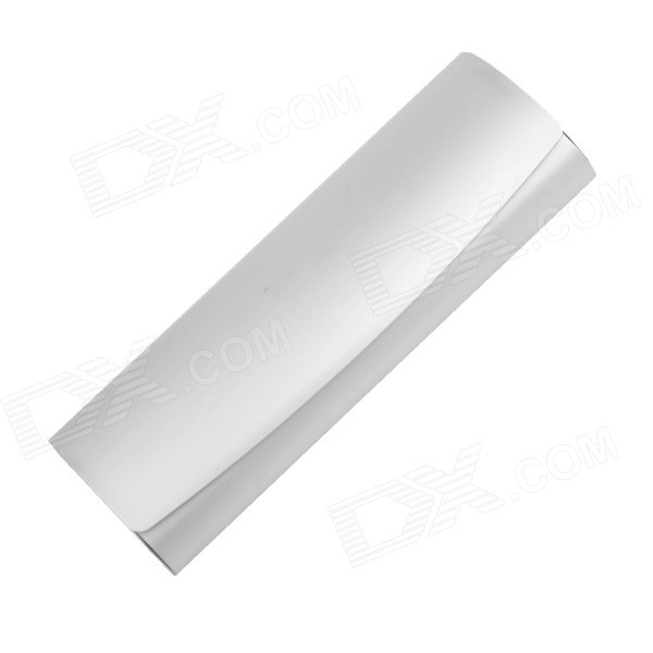 Protective Aluminum Alloy Glasses Case - Silver