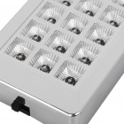 18-LED Car Ceiling Dome White Light (DC 12V)