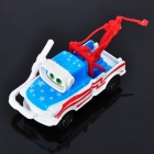 Nette Autos Dive Mater Pull-Back Car Toy (Blue + White + Red)