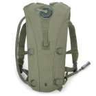 Durable Outdoor Survival Water Bag Backpack with Water Tube - Army Green (2.5L)