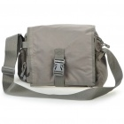 Durable Outdoor Rainproof Shoulder/Aslant Bag - Greyish-green