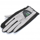 Designer's Professional Golf Left Hand Glove - Black (24-Size)