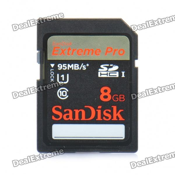 Genuine SanDisk Extreme Pro 633X SDHC UHS-I Memory Card (8GB)