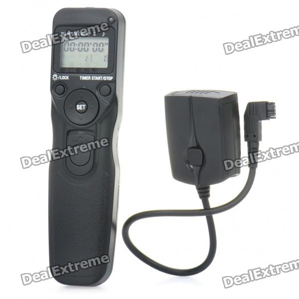 "1.3"" LCD 2.4 GHz Wireless Timer Remote Switch Shutter Release for Sony Camera - Black"