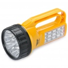 TAIGEXIN Rechargeable 3-Mode 9-LED / 12-LED White Light Flashlight (AC 110~220V / 2-Flat-Pin Plug)