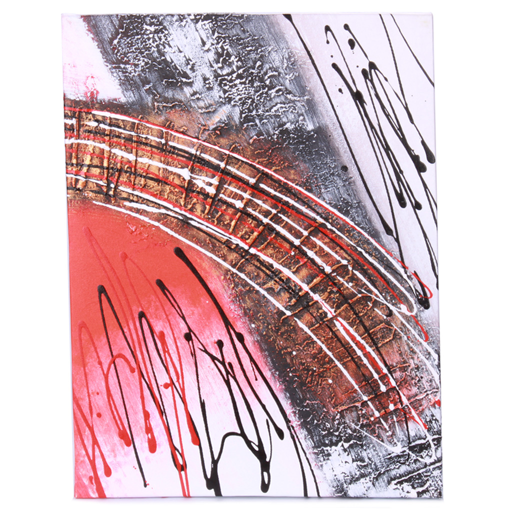 Handmade Hand Painted Oil Painting with Wood Frame - Track 2
