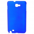 Protective Matte Frosted ABS Plastic Case for Samsung i9220 - Blue