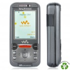 "Refurbished Sony Ericsson W850i UMTS Walkman Phone w / 2,0 ""LCD Display, Java und FM - Black"