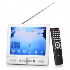 "Portable 8"" Color TFT LCD TV w/ SD / USB - Silver (800 x 600)"