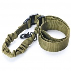 Tactical Single-Point Gun Sling - Army Green