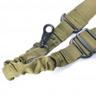 Tactical Single-Point Gun Sling - Army Green (135cm Max.)