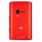 Genuine Replacement Housing Back Cover Case for Sony Ericsson X10 mini / E10i - Red