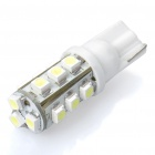 120-140LM 6500-7000K T10 15-LED White Light Lamp (1.5W/12V)