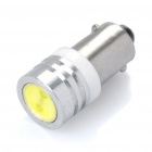BA9S 10-20LM 1-LED 6000-6500K Cold White Light Lamp (1W/12V)