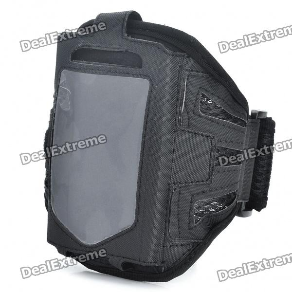 Sporty Armband for Samsung Galaxy Ace S5830 - Black