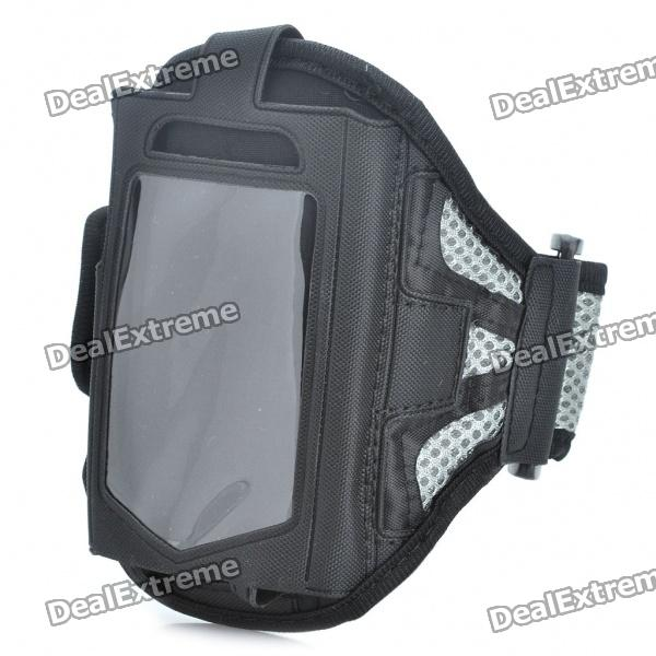 Sporty Armband for Samsung Galaxy Ace S5830 - Grey + Black шины nexans 175 185 195 205 215 50 55 60 65 70r14 15 16