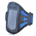 Sporty Armband for Samsung Galaxy Ace S5830 - Blue + Black