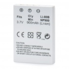 Rechargeable 3.7V/900mAh Battery for Olympus/Minolta - White