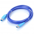 USB 3.0 Printer Extension Cable - Blue (180cm)
