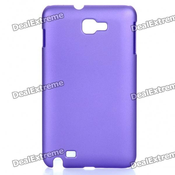 Protective PP Case for Samsung Galaxy Note i9220 N7000 - Purple protective leather case screen protectors for samsung galaxy note i9220 gt n7000
