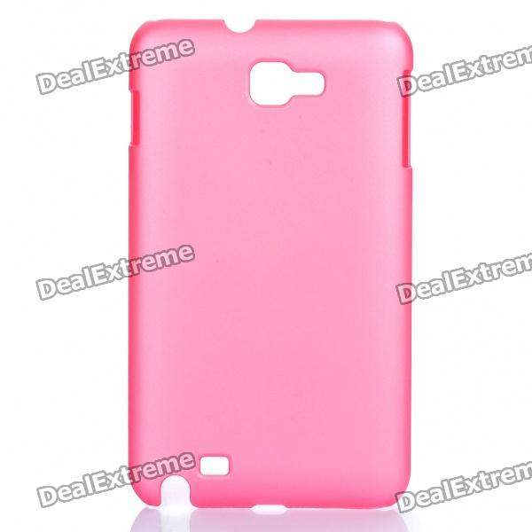 Protective PP Case for Samsung Galaxy Note i9220 N7000 - Pink protective leather case screen protectors for samsung galaxy note i9220 gt n7000