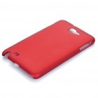 Protective PP Case for Samsung Galaxy Note i9220 N7000 - Red