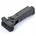Tactical Folding Gun Grip Fore Grip - Black