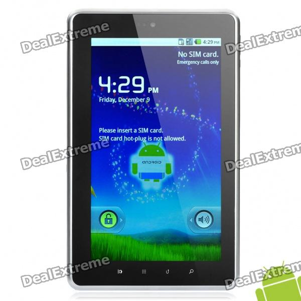 "528 7"" Capacitive Android 2.2 3G Tablet w/ Wi-Fi / Dual Camera - Grey (Dual-core/512MB/4GB)"