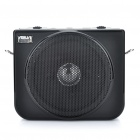 ASUA Multi-Function MP3 Music Speaker Megaphone Voice Amplifier with Line / Mic Jack (Black)
