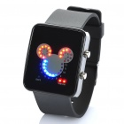 Fashion Digital LED Wrist Watch - Black (2 x CR2016)