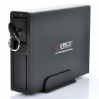 "Genuine Orico USB 2.0 / eSATA External Hard Drive Enclosure for 3.5"" SATA I / II / III - Black"