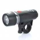 Bike Bicycle 3-Mode 5-LED White Head Light with Mount Bracket (4 x AAA)