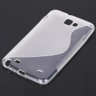 Protective TPU Case for Samsung Galaxy Note i9220 - Translucent
