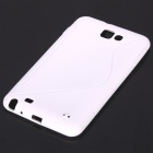 Protective TPU Case for Samsung Galaxy Note i9220 - White