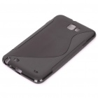Protective TPU Case for Samsung Galaxy Note i9220 - Black